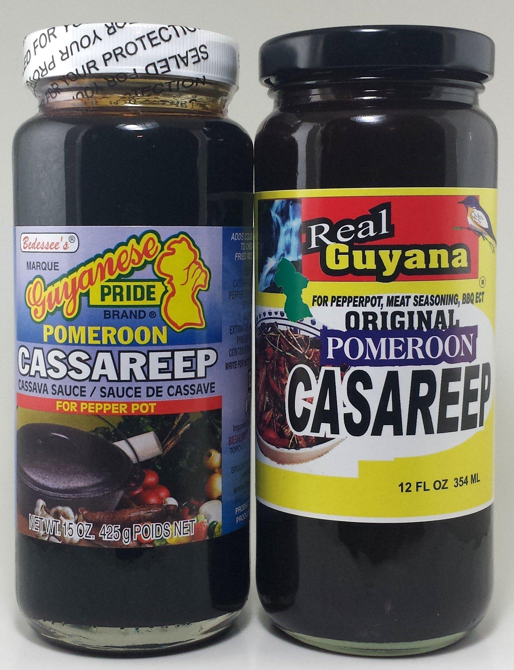 Casareep - Real Guyana (12oz) & Guyanese Pride (15.oz)