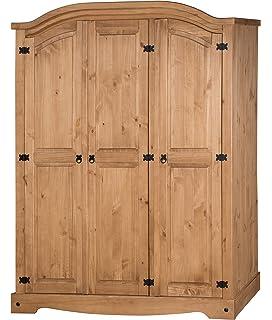 Mercers Furniture Corona 3 Door Arch Top Wardrobe