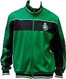 Veste zippée ASSE - Collection officielle AS SAINT ETIENNE - Football club Ligue 1 - Taille enfant garçon