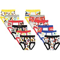 Disney Boys Mickey Mouse '12 Days' Gift Box 12-Pack Brief Underwear - Multi
