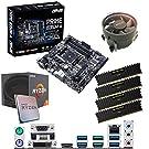 Components4All AMD Ryzen 5 1600 3.2Ghz (Turbo 3.6Ghz) Six Core Twelve Thread CPU, ASUS Prime B350M-A Motherboard & 16GB 3000Mhz Corsair DDR4 RAM Pre-Built Bundle
