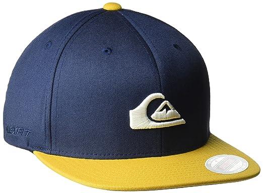 new styles d821b cf1df Quiksilver Men s Stuckles Hat, Navy Blazer, Small Medium