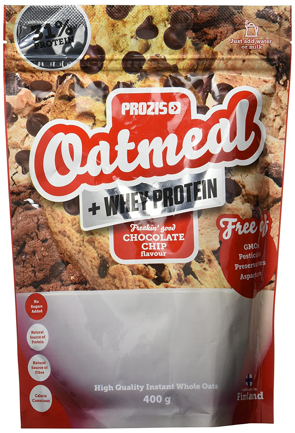 Prozis Oatmeal, Chocolate Chip - 400 gr: Amazon.es: Salud y cuidado personal