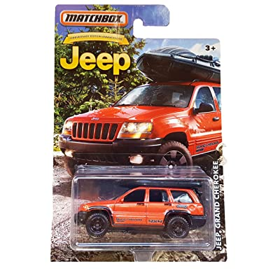 Matchbox Jeep Grand Cherokee Anniversary Limited Edition Metallic Orange Die-cast: Toys & Games
