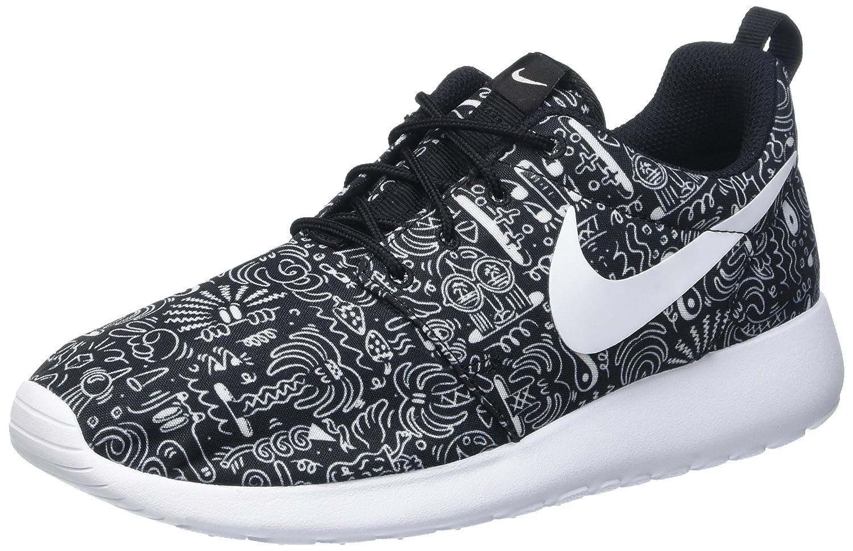 Nike Damen WMNS Roshe One Print Prem Laufschuhe, Schwarz M eine Vielzahl von Waren
