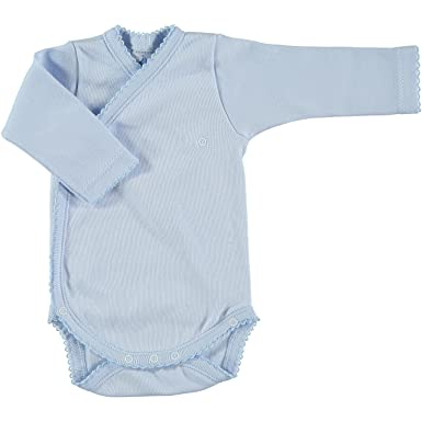 badca233 Amazon.com: Babidu Baby-boys Newborn Side Snap Body Suit, Blue, 6 ...