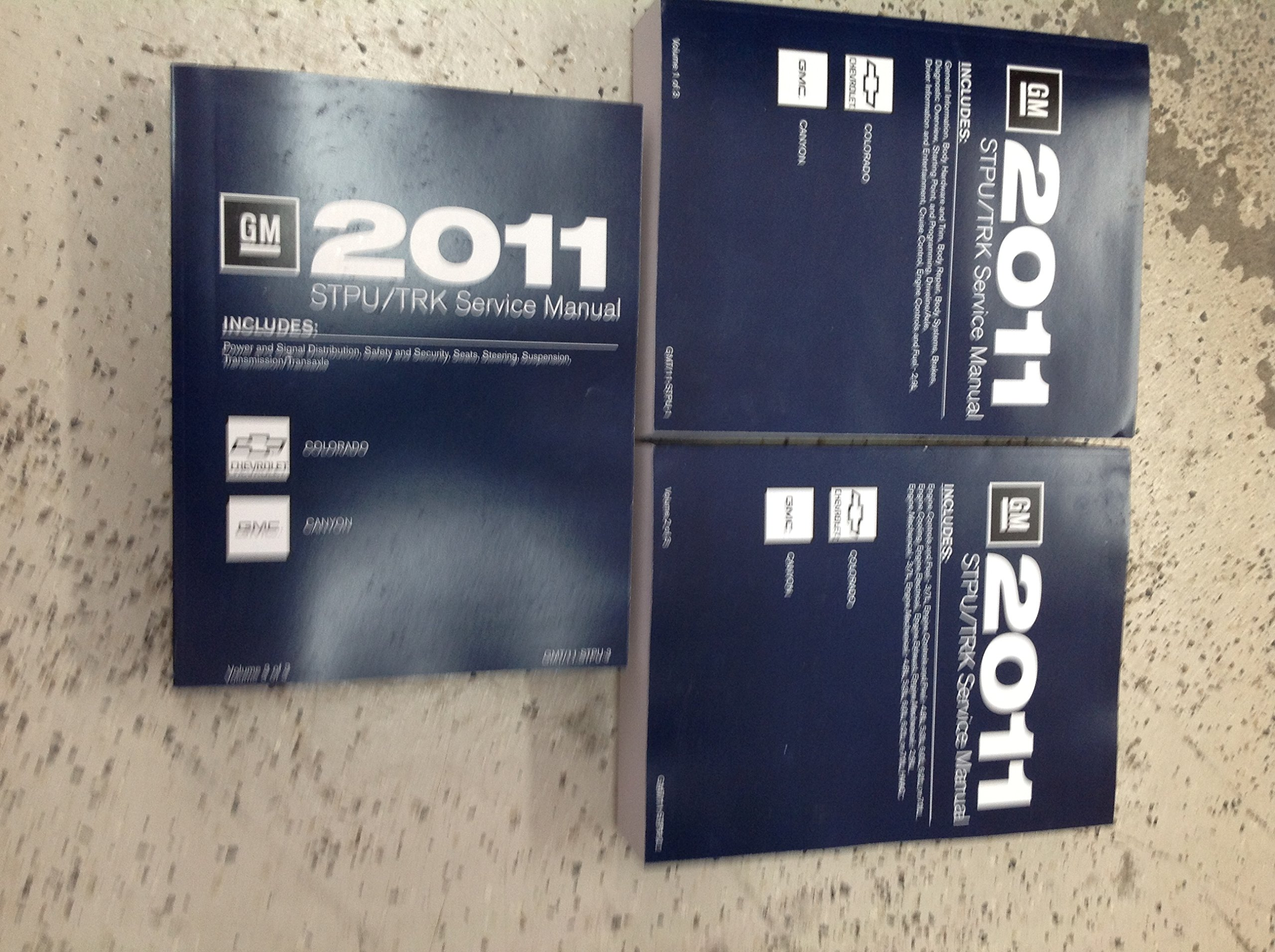 2011 Chevy Colorado Gmc Canyon Truck Service Shop Repair Manual Gm Cruise Control Set New Books