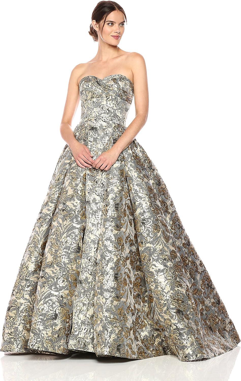 Mac Duggal Women's Sweetheart Strapless Bustier Ballgown