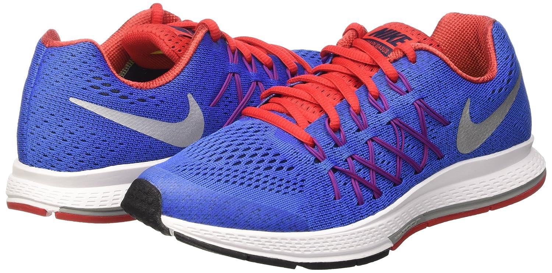 Amazon.com   Nike Zoom Pegasus 32 (GS) Running Trainers 759968 Sneakers Shoes (4.5 Big Kid M, Racer Blue Metallic Silver 404)   Fashion Sneakers