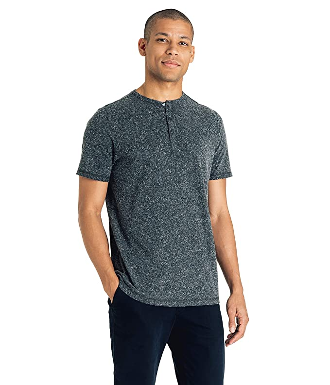 be126d54 Good Man Brand Men's Soft Jersey Henley