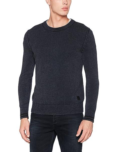 Uk1629.000.g22454g, Suéter para Hombre, Rojo (Deep Bordeaux 278), Small Replay
