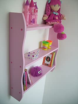 Fabulous Woodiquechic 70Cm H Pink Girls Bedroom Shelves Toy Storage Kids Bookcase Kids Furniture Shelf Pine Shelves Download Free Architecture Designs Intelgarnamadebymaigaardcom