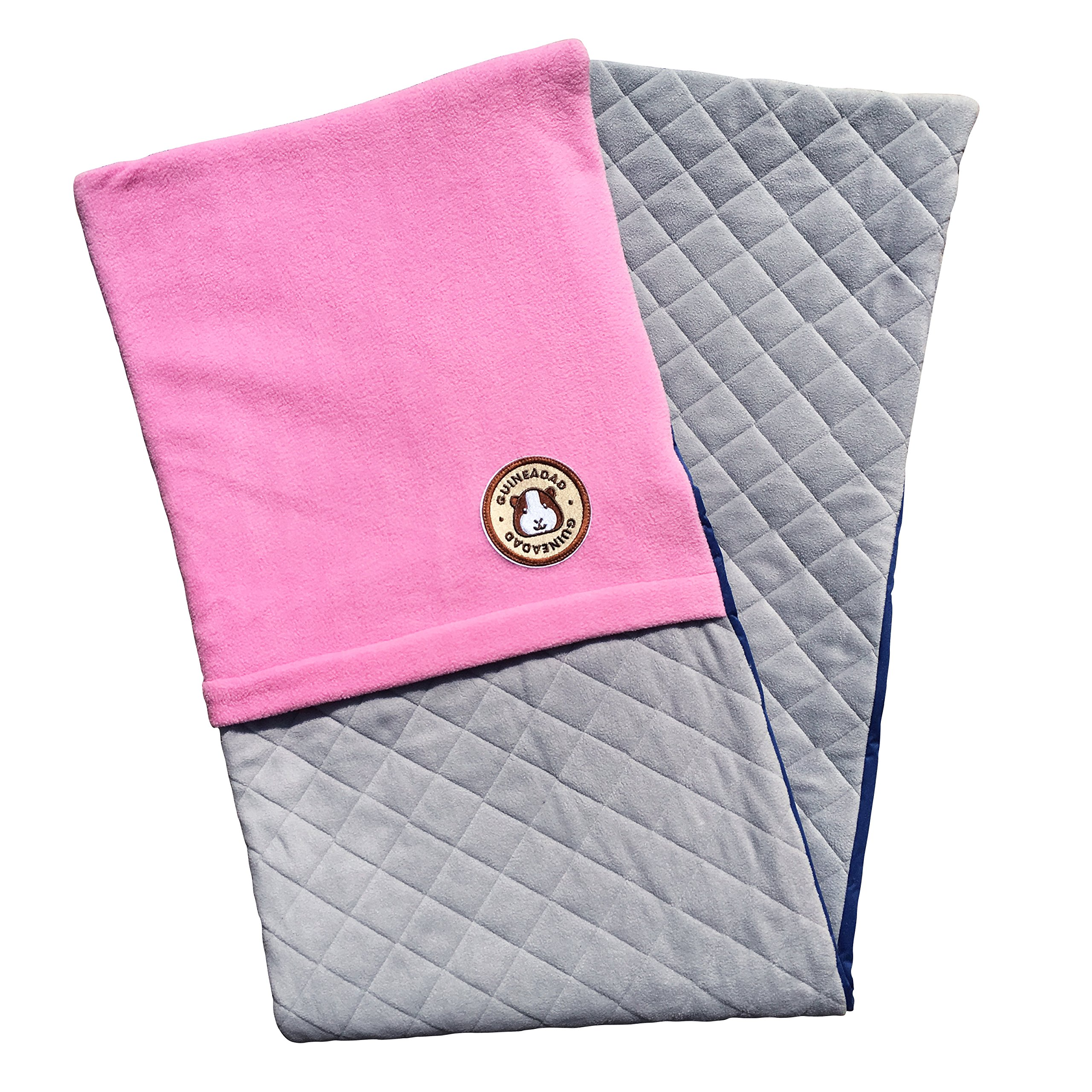 GuineaDad Fleece Liner 2.0 | Guinea Pig Fleece Cage Liners Bedding | Burrowing Pocket Sleeve | Extra Absorbent Antibacterial Bamboo | Waterproof | Available Various Cage Sizes by GuineaDad (Image #6)