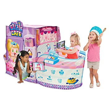 Amazoncom Playhut X Cubie Café Play Tent With App Game Toys Games
