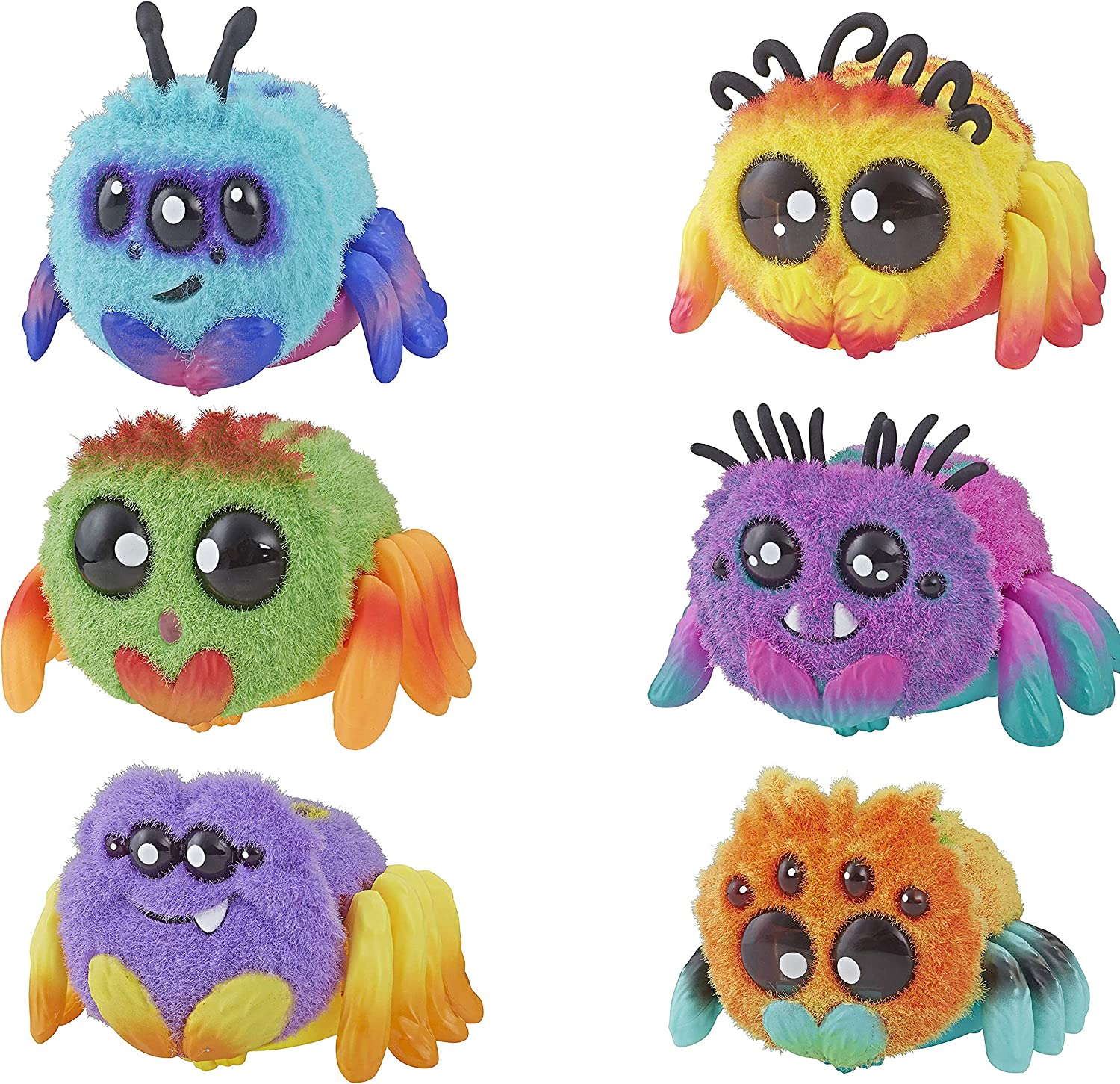 """Yellies Interactive Voice Activated Spider Pet /""""Harry Scoots/""""by Hasbro"""