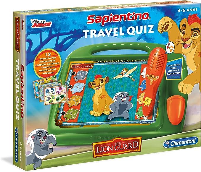 Clementoni Travel Quiz - Juego de Viaje (versión Italiana) La ...