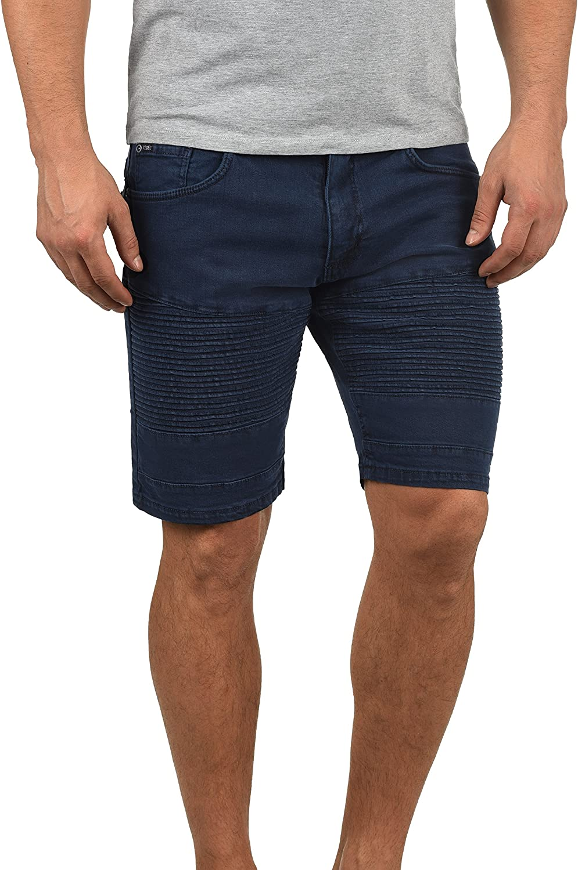Redefined Rebel Morton Pantaloncini di Jeans Shorts Bermuda da Uomo Elasticizzato Regular Fit