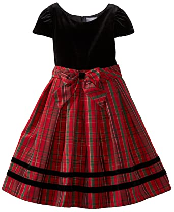 Amazon Sweet Heart Rose Big Girls Plus Size Plaid Occasion