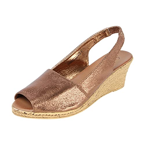 2412db7e71a7 Catwalk Bronze Peep Toe Sandals  Buy Online at Low Prices in India ...