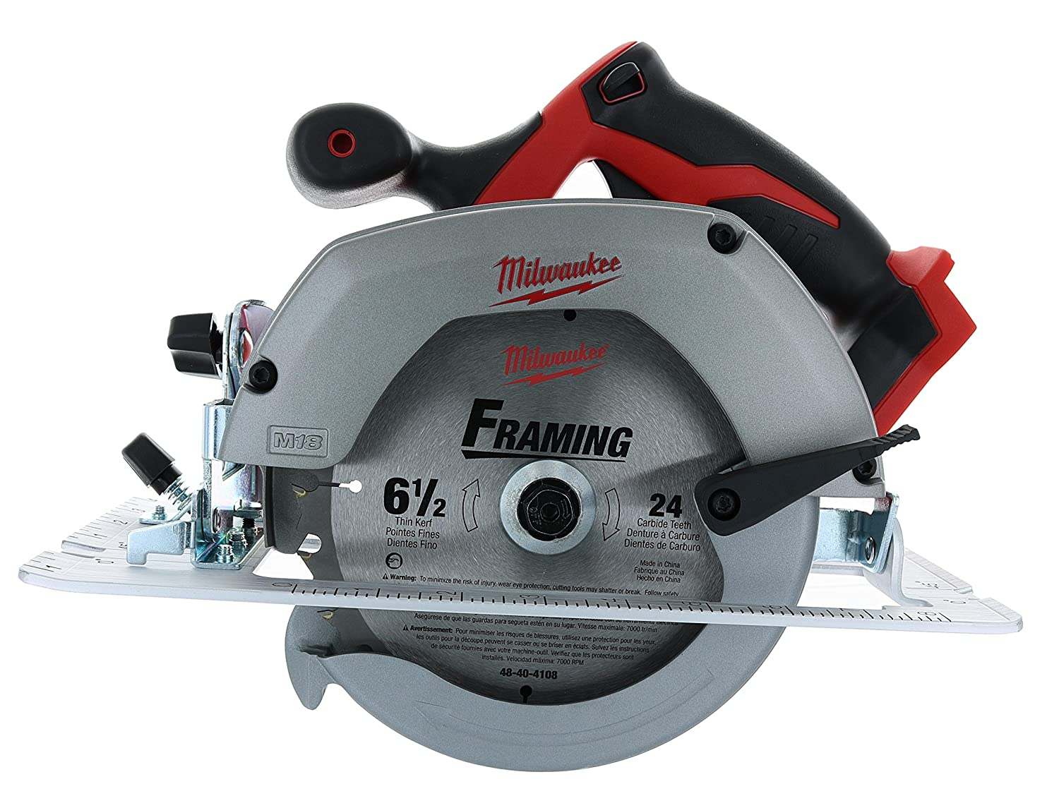 Milwaukee m18 2630 20 18 volt lithium ion 6 12 3 500 rpm cordless milwaukee m18 2630 20 18 volt lithium ion 6 12 3 500 rpm cordless circular saw wmagnesium guards and included 24 tooth carbide wood cutting blade greentooth Image collections
