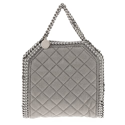 765e425d84 Stella McCartney Women s Tiny Falabella Quilted Shaggy Deer Tote Grey   Amazon.ca  Shoes   Handbags