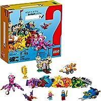 579-Piece LEGO Classic Ocean's Bottom Building Kit (10404)