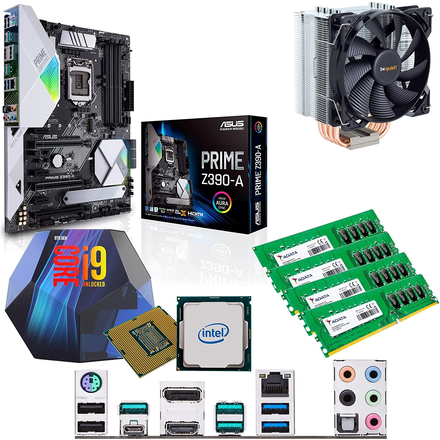 Components4All Intel Coffee Lake Core i9 9900K 3 6GHz (5 0