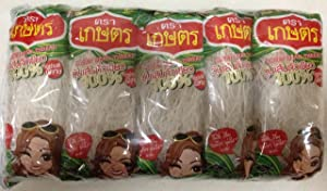 Kaset Brand Thai Bean Thread Glass Noodles - 1.4 oz