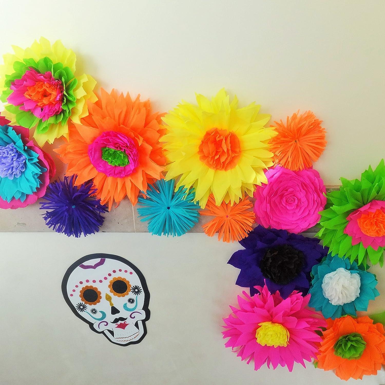 Mexican Paper Flower Garland Ukrandiffusion