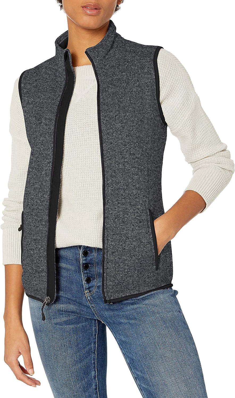 Charles River Apparel Women's Pacific Sweater Fleece Vest