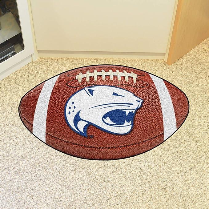 FANMATS NCAA University of South Alabama Jaguars Nylon Face Football Rug