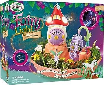 My Fairy Garden Music And Mushroom House Fairy Light Garden
