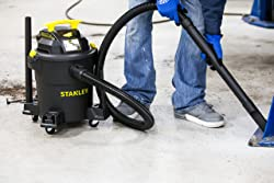 Stanley Wet/Dry Vacuum, 6 Gallon, 4 Horsepower