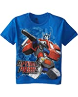 Transformers Boys' Optimus Prime T-Shirt