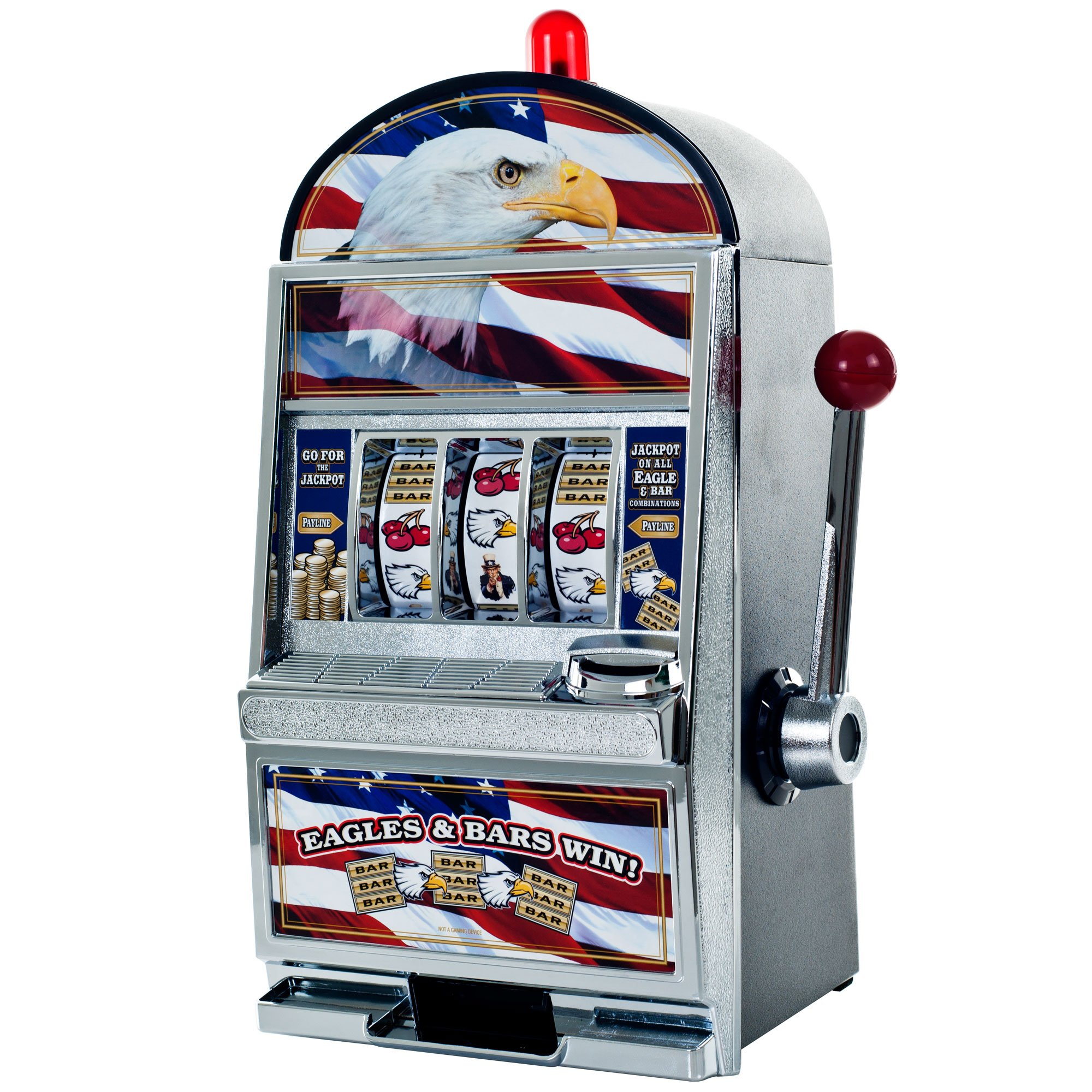 Trademark American Eagle Slot Machine Bank