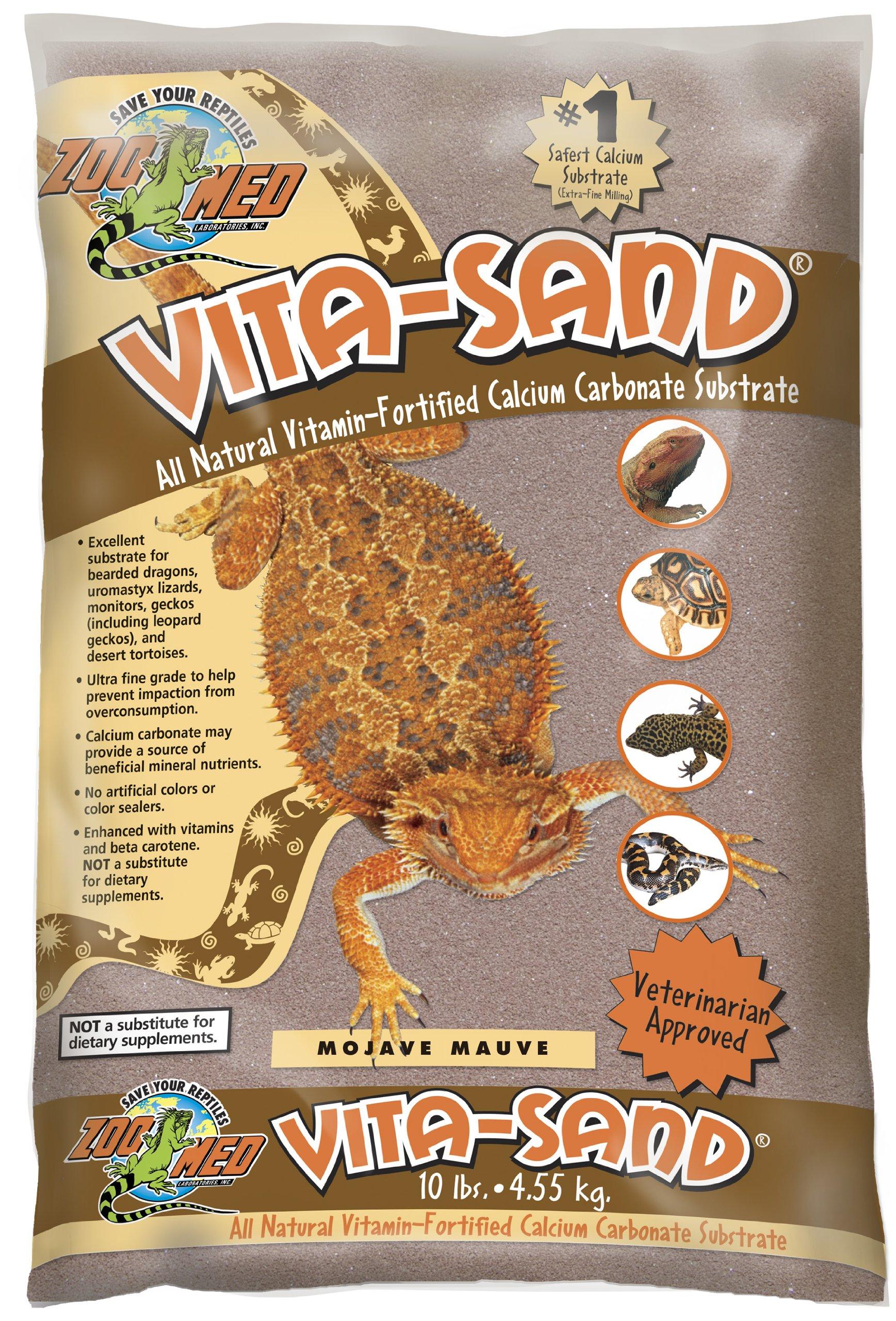 Zoo Med Vita Sand, 10 Pounds, Mauve