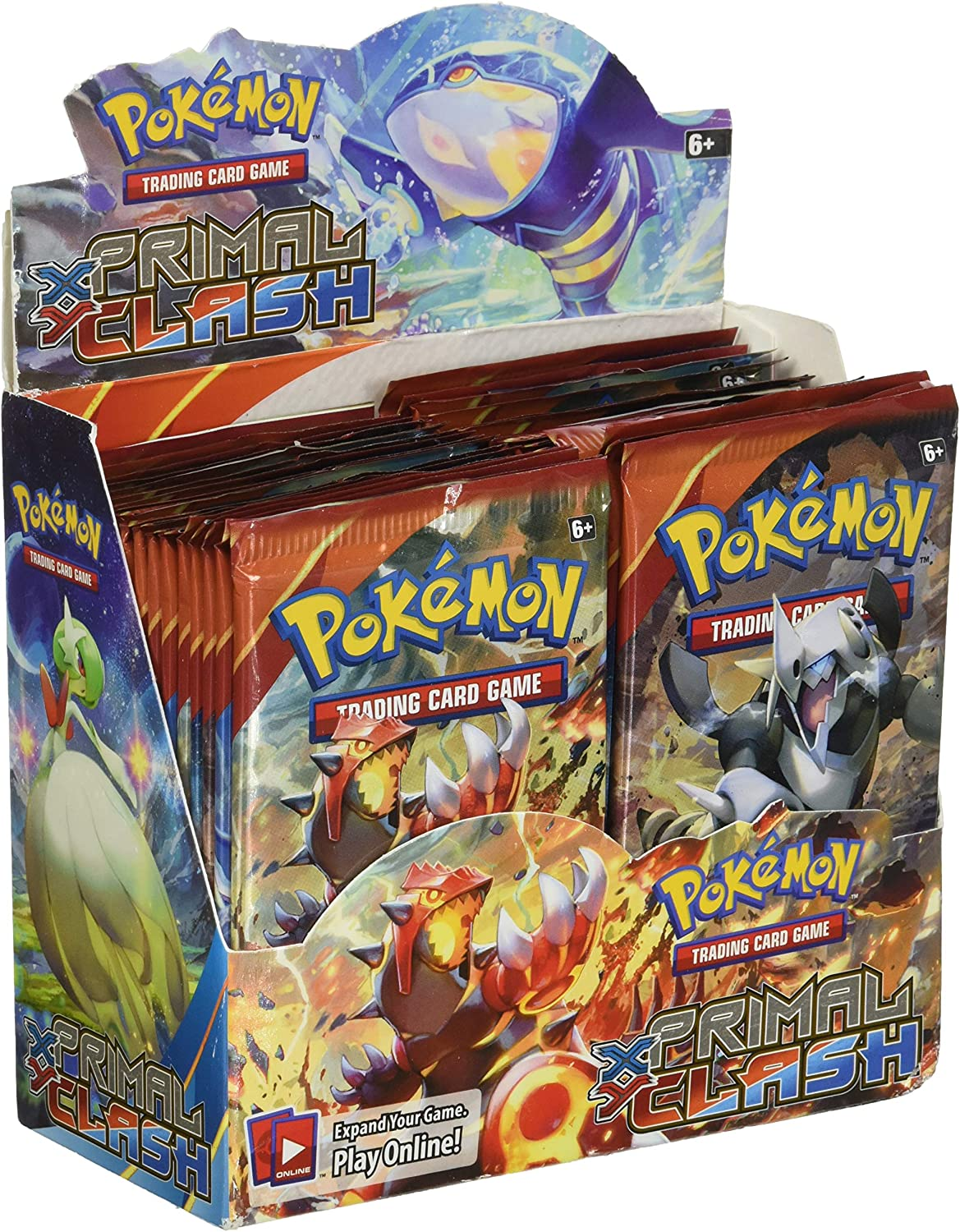 36 Booster Packs Primal Clash Booster Box Pokemon TCG Factory Sealed English