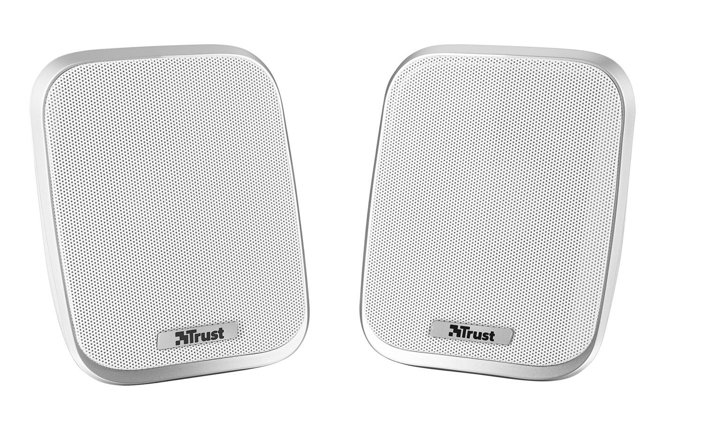 Trust Porto 2.0 Lautsprechersystem (12 Watt, 3,5mm Klinke) weiß 19912