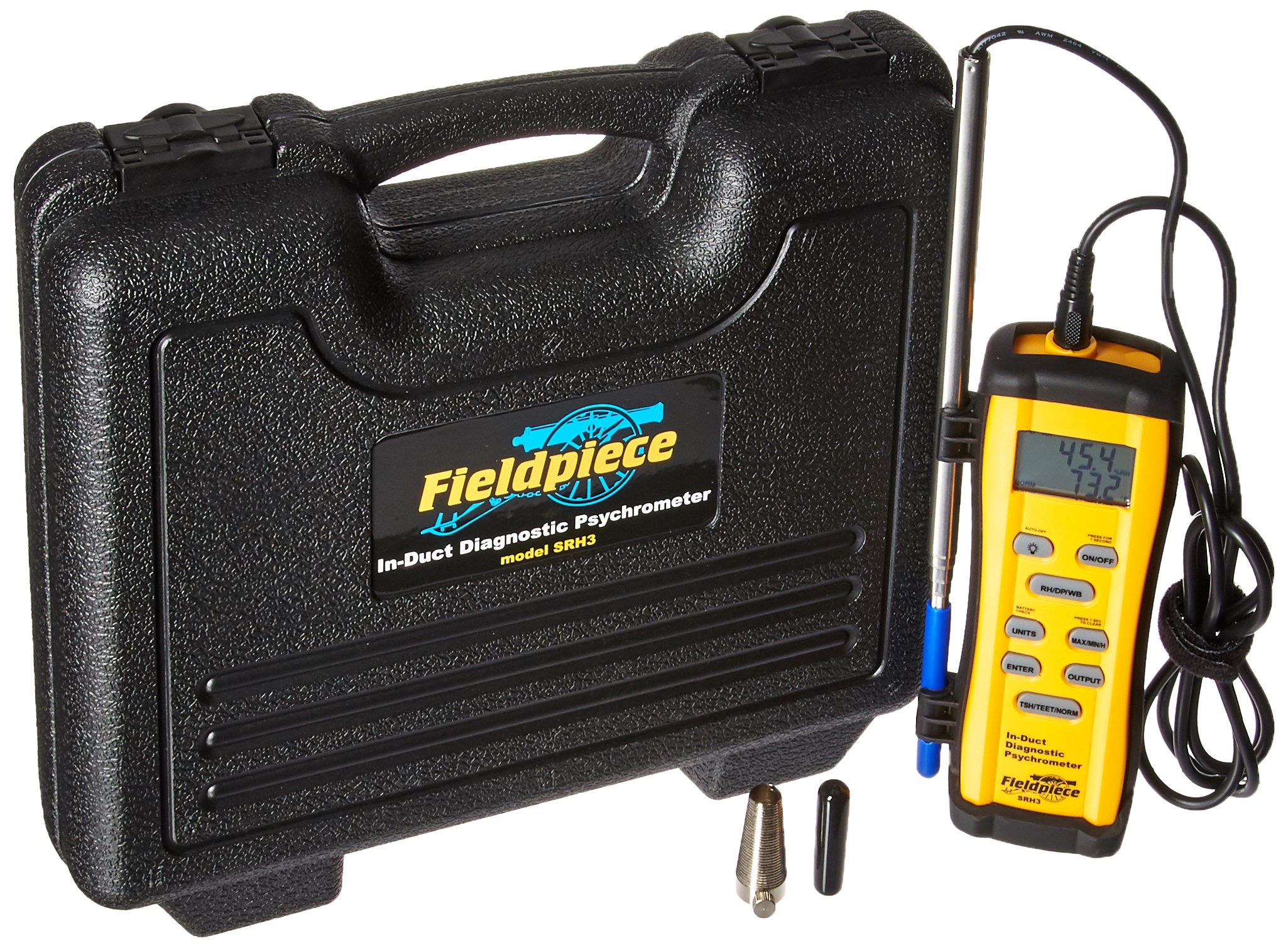Fieldpiece SRH3 In-Duct Digital Psychrometer by Fieldpiece