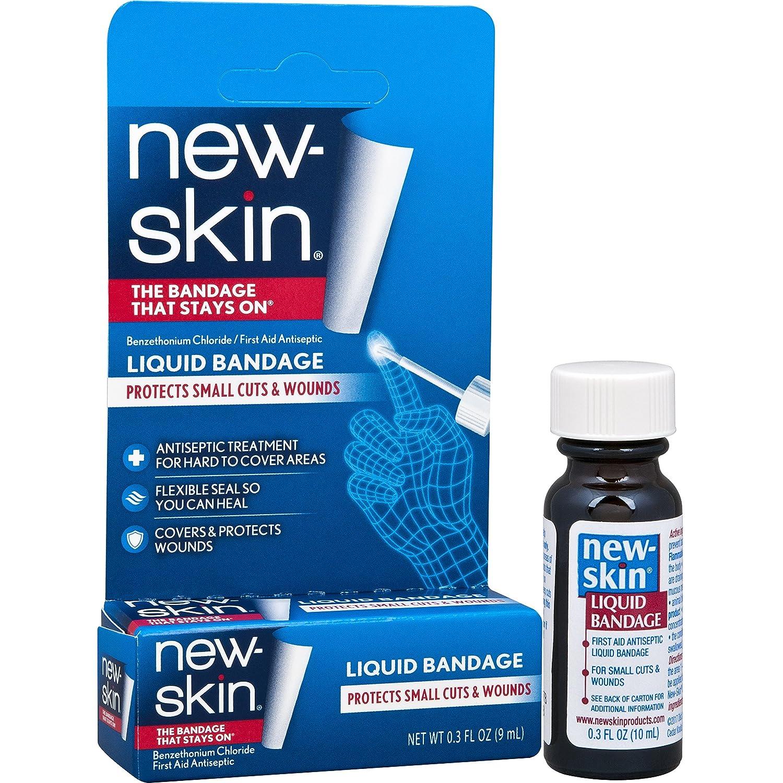 NEW SKIN Pansement liquide antiseptique pour petites blessures et  égratignures  Amazon.fr  Hygiène et Soins du corps f1f506128deb