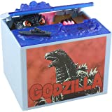 Mechanical Godzilla Toy Coin Bank For Kids - A Fun, Unique Alternative To Piggy Banks - Delights With Realistic Movements and Lifelike Designs - Perfect As Kids Birthday or Creative Presents