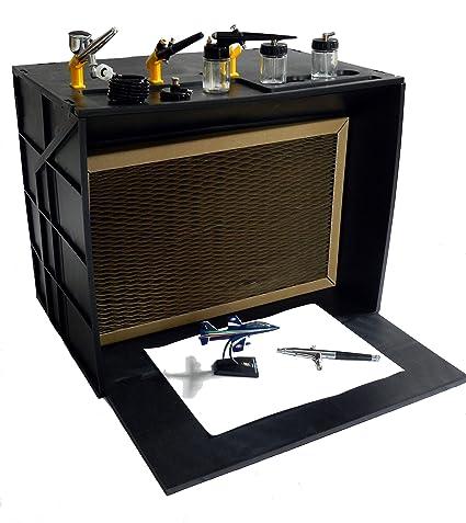 Bamax Spray Booth Mini Cabina di Verniciatura per Aeropenne, Nero ...