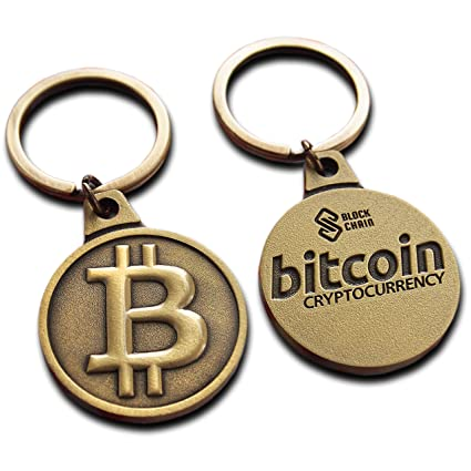 Bitcoin Keyring Luxury 2018 Metal Edition Physical Bitcoin ...