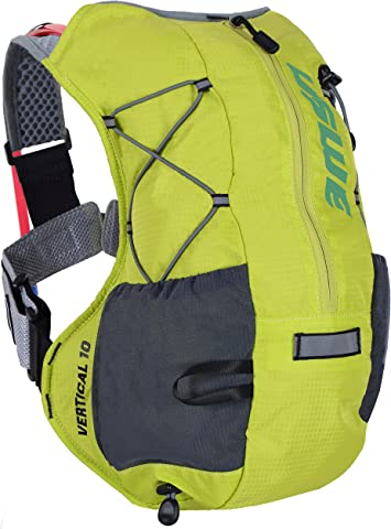 USWE Sports Vertical 10 Hydration Pack, Color Amarillo, tamaño S ...
