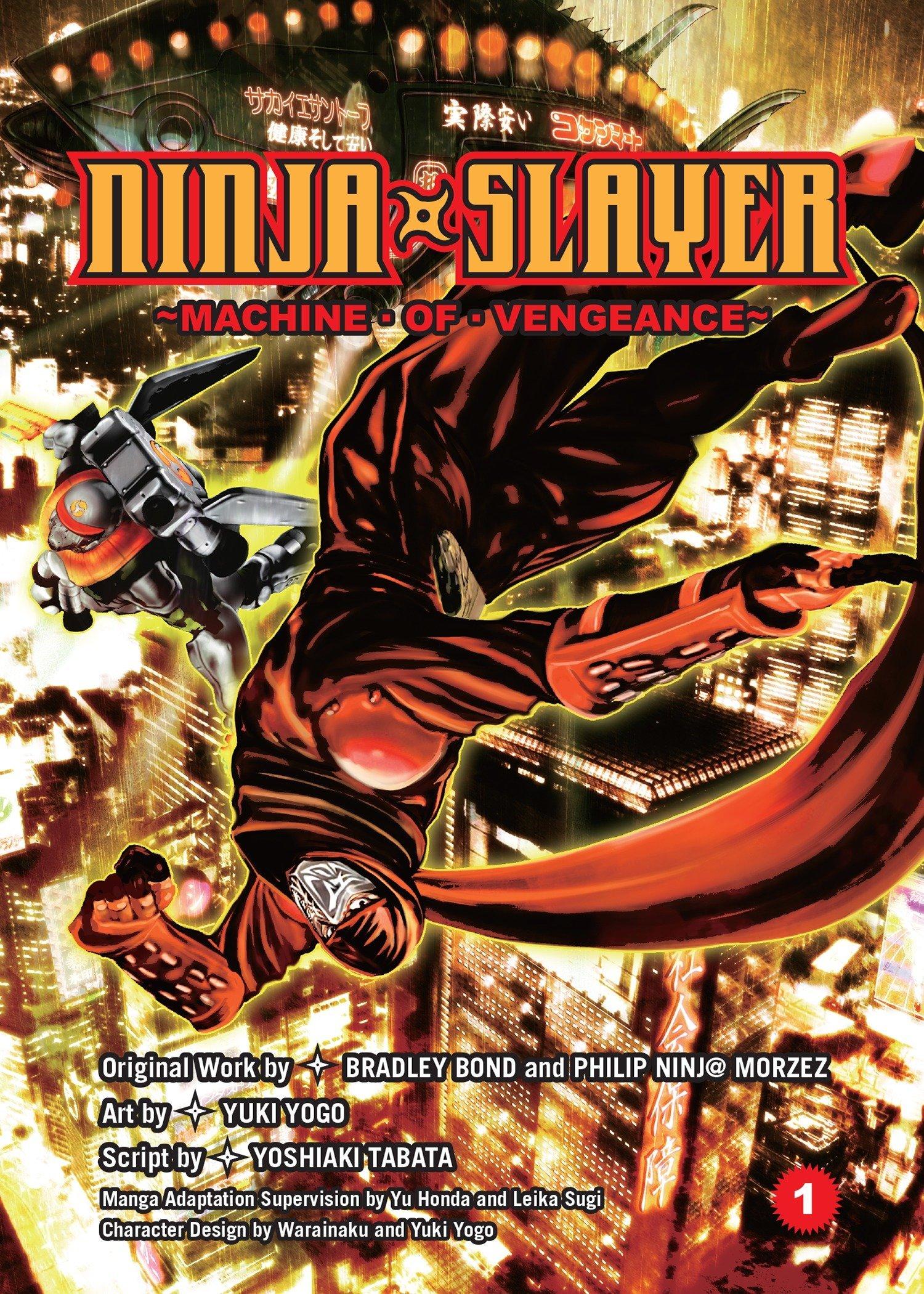 Ninja Slayer, Part 1: Machine of Vengeance: Yoshiaki Tabata ...