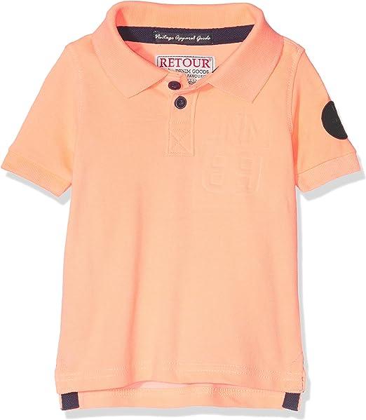 Retour Lucas-D, Polo para Niños, Naranja (Neon Orange) 8 años ...