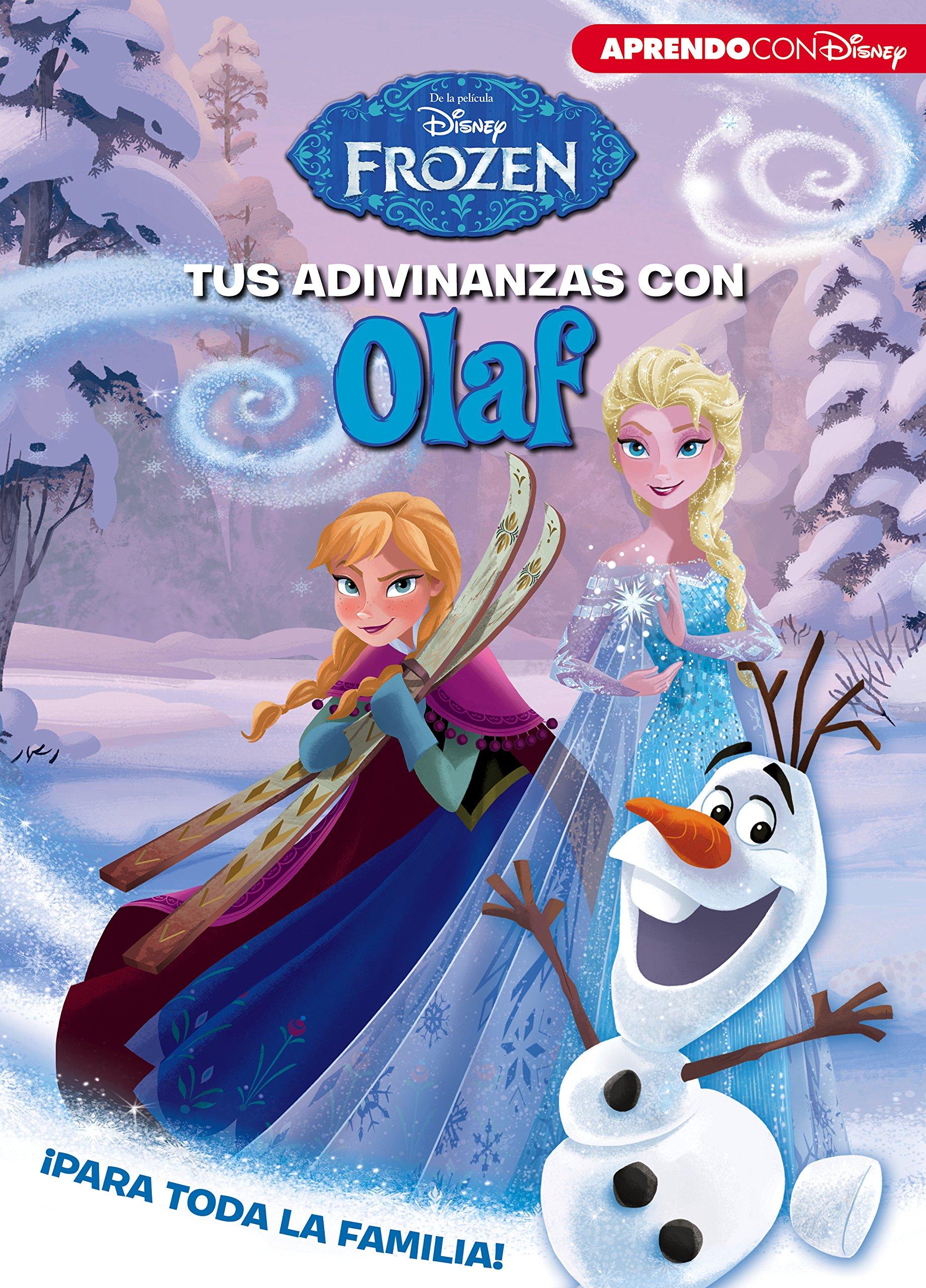 Frozen. Tus adivinanzas con Olaf (Spanish) Hardcover – March 1, 2018