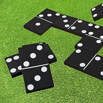 Giant Dominoes Outdoor Garden Game by Parkland: Amazon.es: Juguetes y juegos
