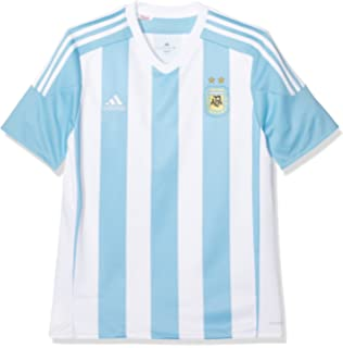 46ef43870ab 2018-19 Argentina Home Football Soccer T-Shirt (Lionel Messi 10 ...