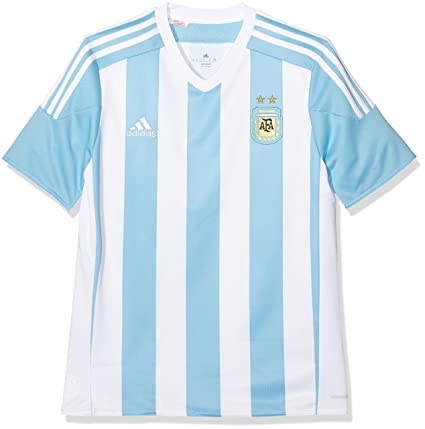 9ecbc8b0a2b Amazon.com : Argentina Kids (Boys Youth) Home Jersey 2015 - 2016 ...
